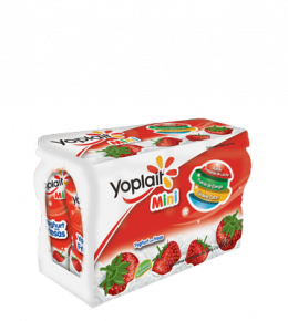 Multipack Yoplait Mini Beber Fresa