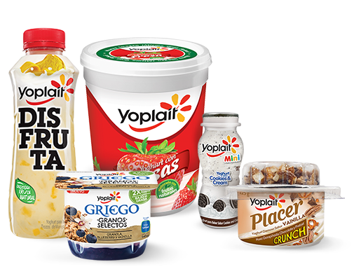 <strong>Vida saludable</strong> con Yoplait