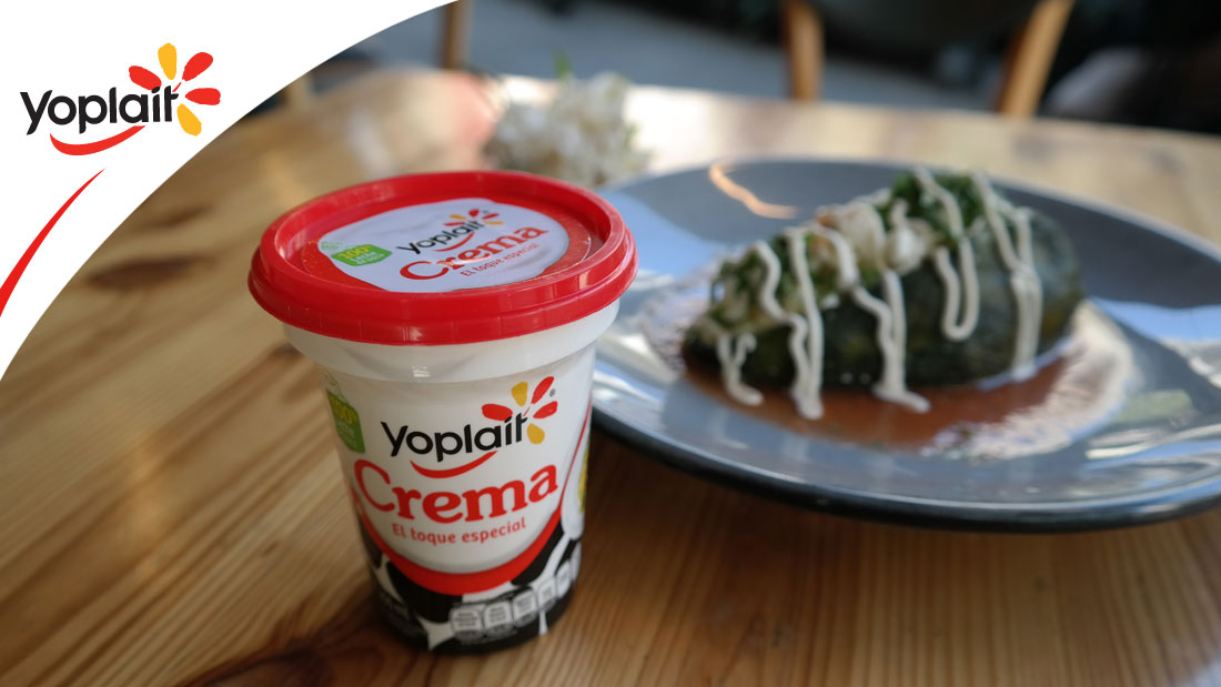 Chiles Rellenos con Crema Yoplait
