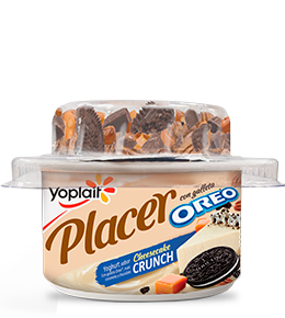 Placer Crunch Cheesecake con galleta Oreo®